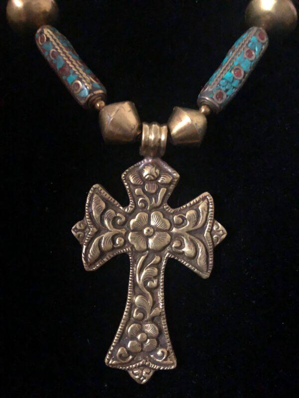 Bronze Bead Closeup